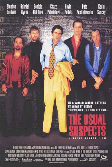 USUAL SUSPECTS, THE (The Usual Suspects) @ FilmPosters.com