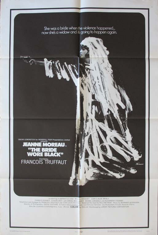 BRIDE WORE BLACK, THE @ FilmPosters.com
