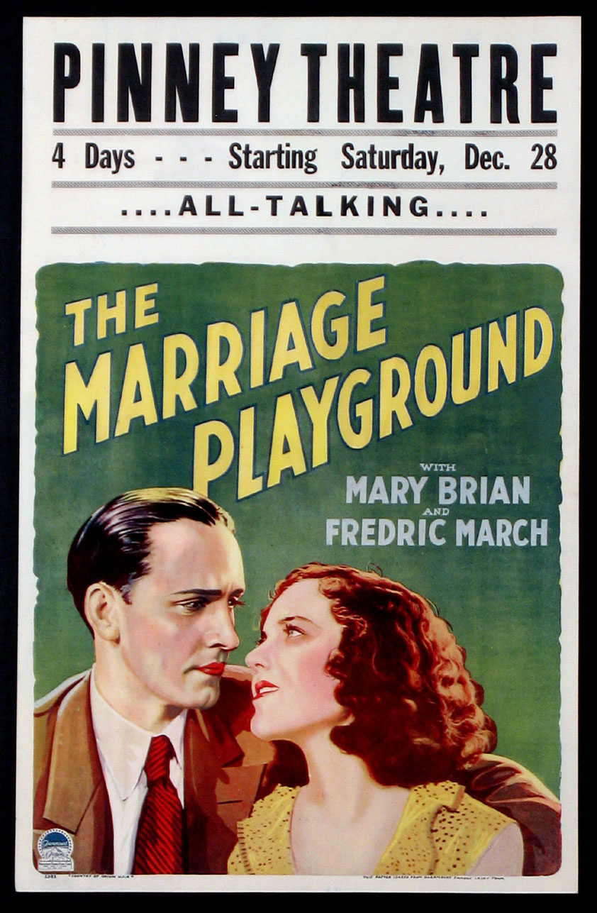 MARRIAGE PLAYGROUND, THE @ FilmPosters.com