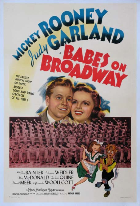 BABES ON BROADWAY @ FilmPosters.com