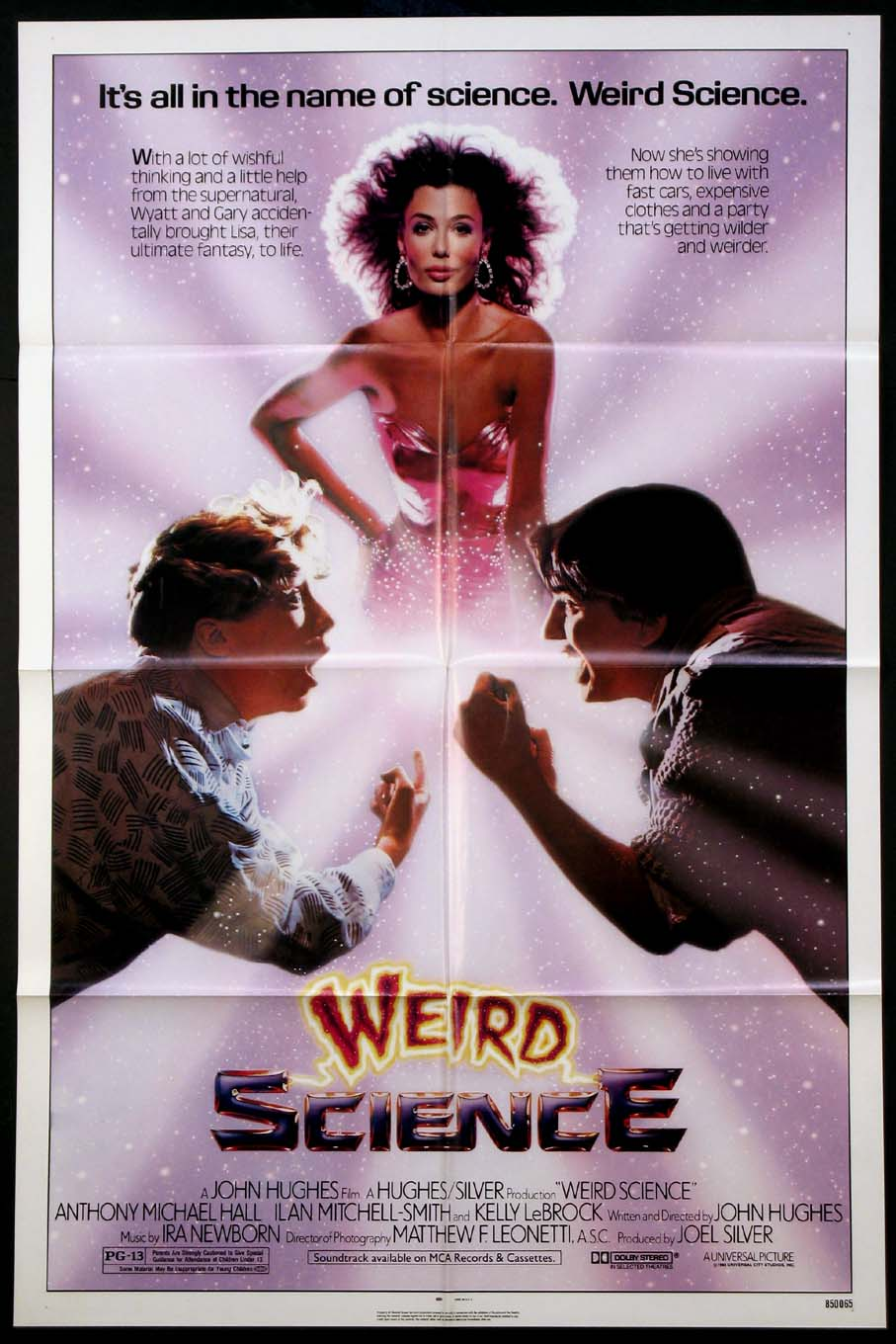 WEIRD SCIENCE @ FilmPosters.com