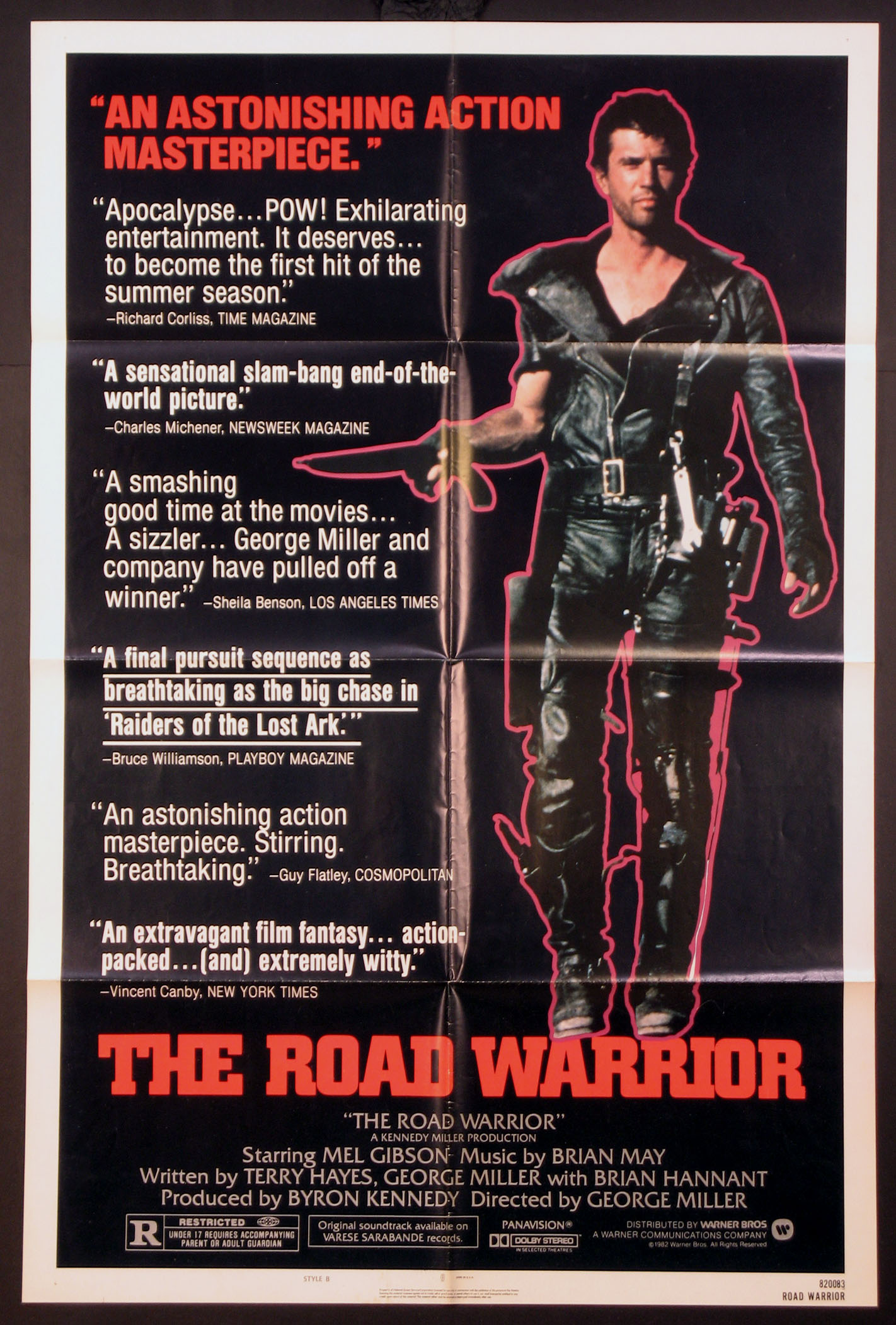 ROAD WARRIOR, THE (aka Mad Max 2) @ FilmPosters.com