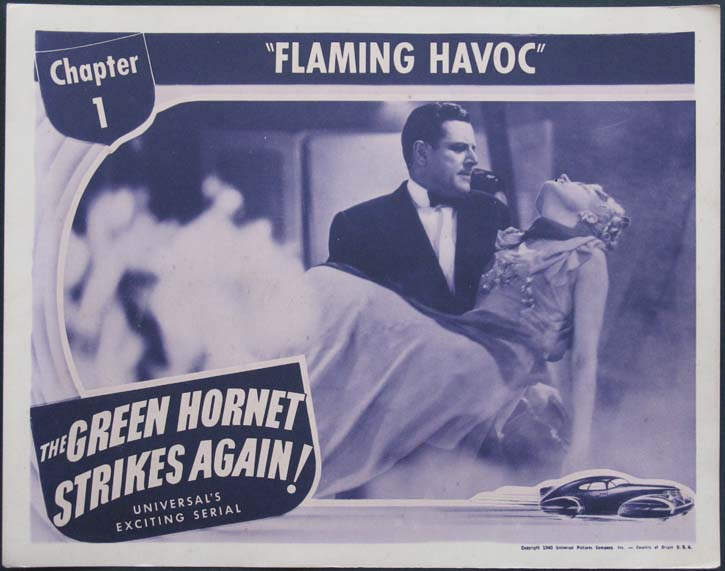 GREEN HORNET STRIKES AGAIN, THE @ FilmPosters.com
