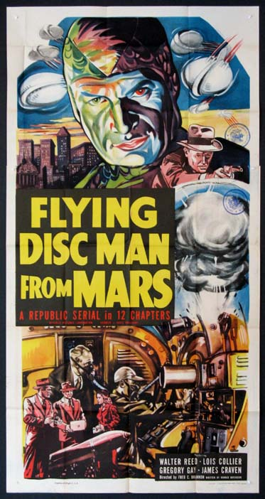 FLYING DISC MAN FROM MARS @ FilmPosters.com