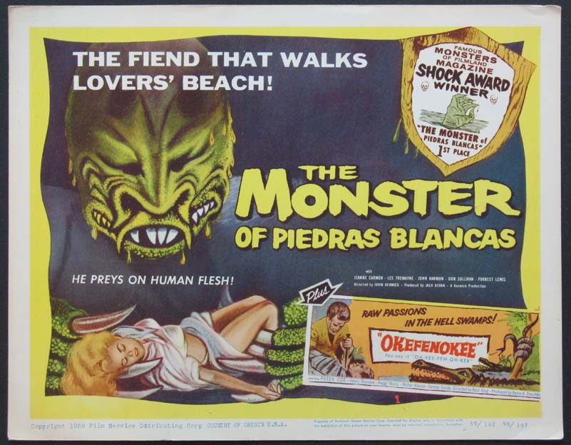 MONSTER OF PIEDRAS BLANCAS, THE @ FilmPosters.com