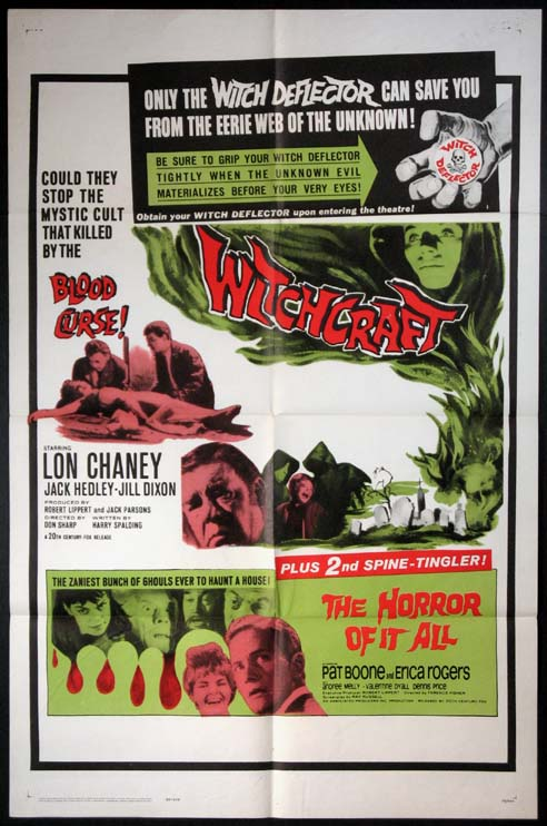 WITCHCRAFT / THE HORROR OF IT ALL @ FilmPosters.com