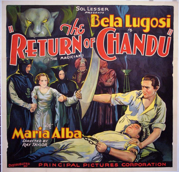 RETURN OF CHANDU (the Magician) @ FilmPosters.com