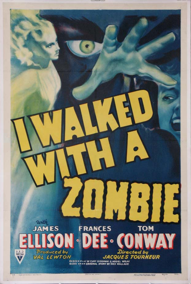 I WALKED WITH A ZOMBIE @ FilmPosters.com