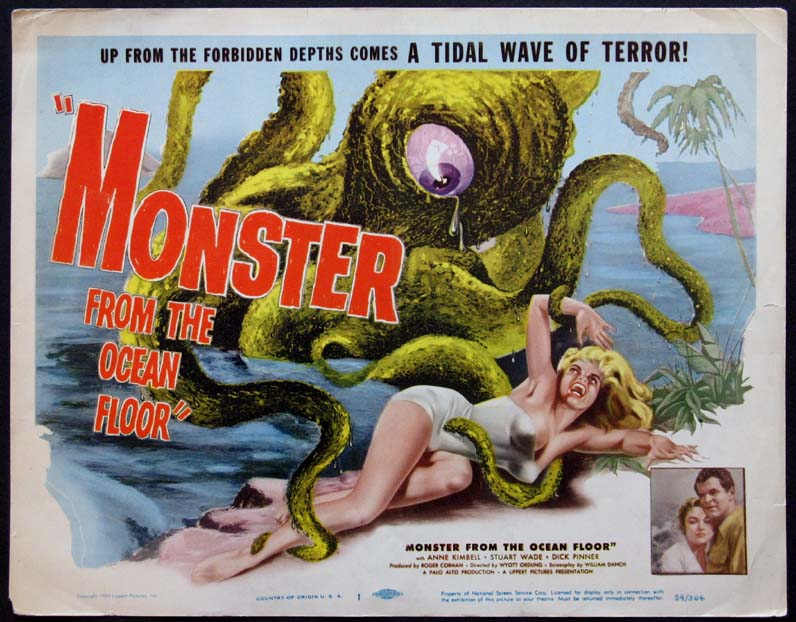 MONSTER FROM THE OCEAN FLOOR @ FilmPosters.com