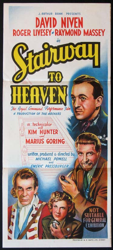 STAIRWAY TO HEAVEN (A Matter of Life and Death) @ FilmPosters.com