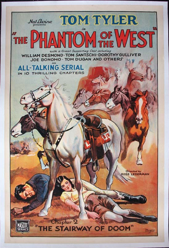 PHANTOM OF THE WEST, THE @ FilmPosters.com