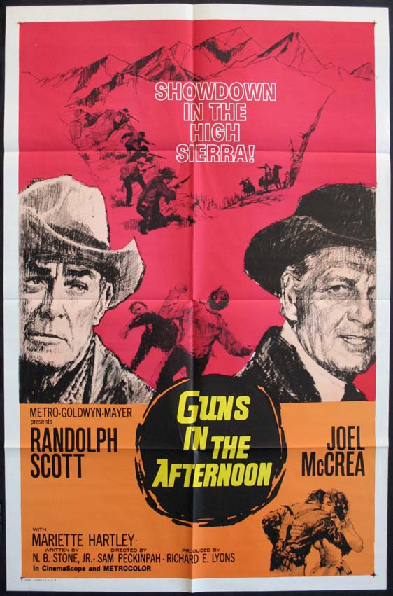 GUNS IN THE AFTERNOON (Ride the High Country) @ FilmPosters.com