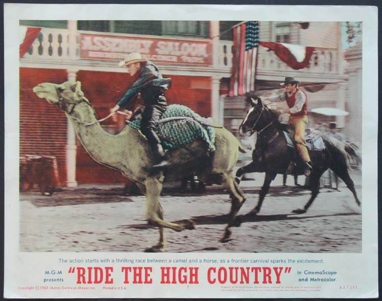 RIDE THE HIGH COUNTRY @ FilmPosters.com