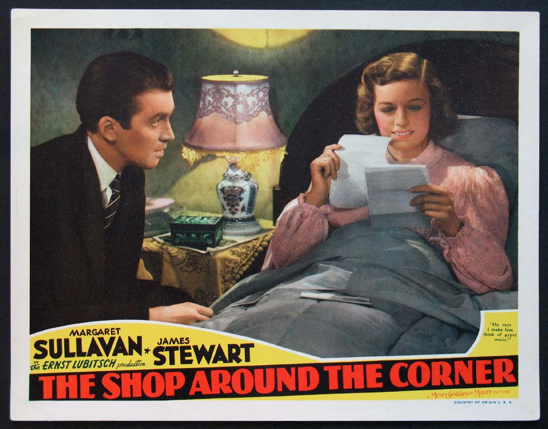 SHOP AROUND THE CORNER, THE @ FilmPosters.com