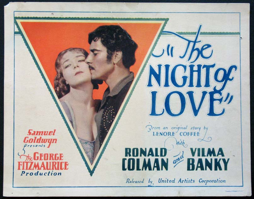 NIGHT OF LOVE, THE @ FilmPosters.com