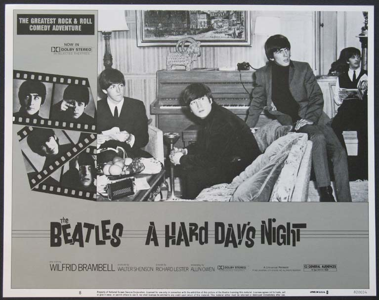 HARD DAY'S NIGHT, A (A Hard Days Night) @ FilmPosters.com