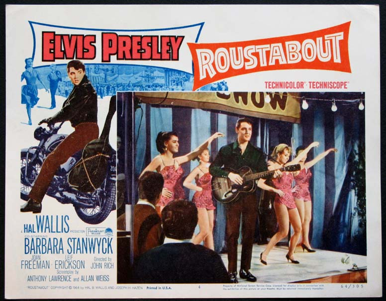 ROUSTABOUT @ FilmPosters.com