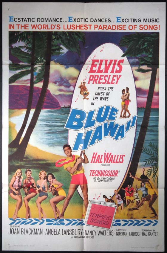 BLUE HAWAII @ FilmPosters.com