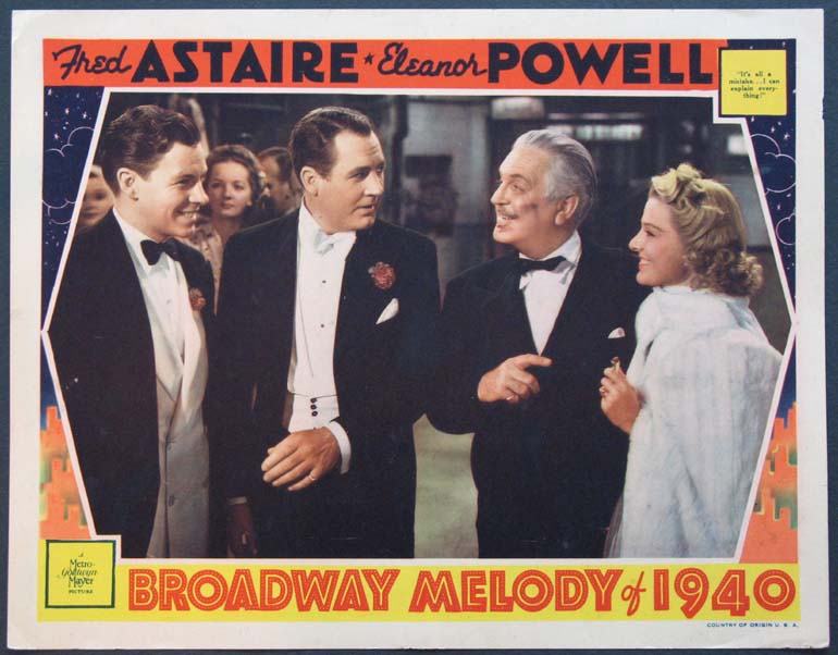 BROADWAY MELODY OF 1940 @ FilmPosters.com