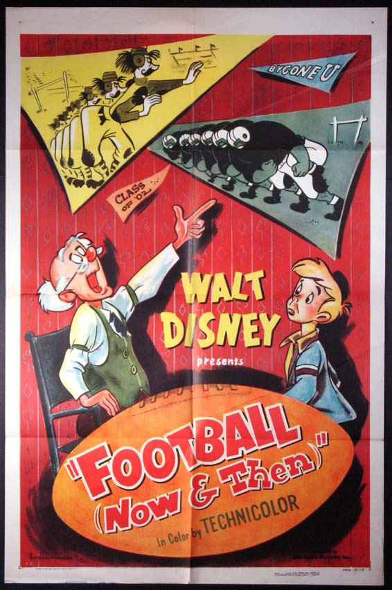 FOOTBALL NOW AND THEN @ FilmPosters.com