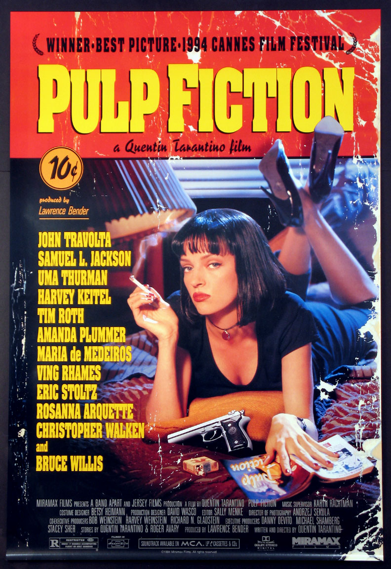 PULP FICTION @ FilmPosters.com