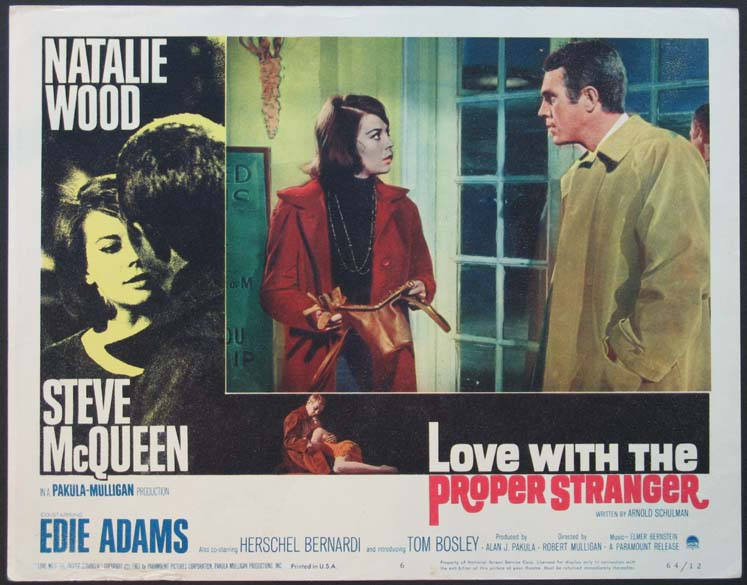 LOVE WITH THE PROPER STRANGER @ FilmPosters.com