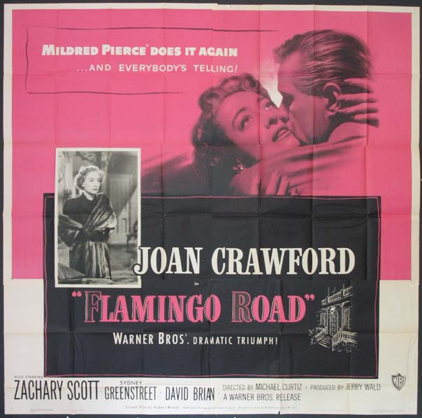 FLAMINGO ROAD @ FilmPosters.com
