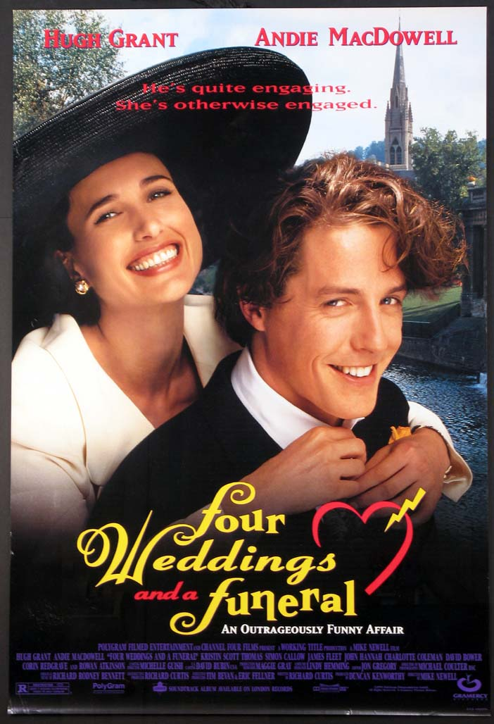 FOUR WEDDINGS AND A FUNERAL @ FilmPosters.com