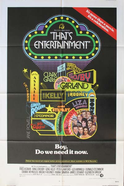 THAT'S ENTERTAINMENT @ FilmPosters.com