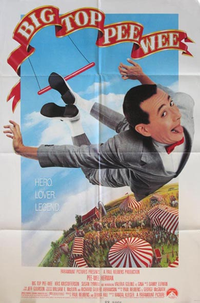BIG TOP PEE-WEE @ FilmPosters.com