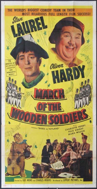 BABES IN TOYLAND (The March of the Wooden Soldiers) @ FilmPosters.com