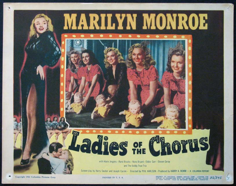 LADIES OF THE CHORUS @ FilmPosters.com
