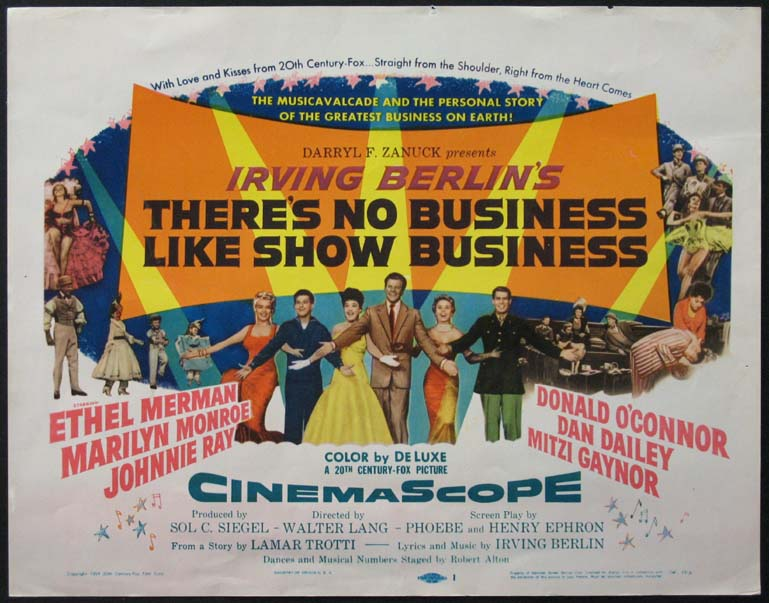 THERE'S NO BUSINESS LIKE SHOW BUSINESS @ FilmPosters.com
