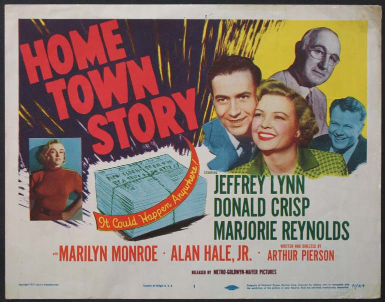 HOME TOWN STORY (Hometown Story) @ FilmPosters.com