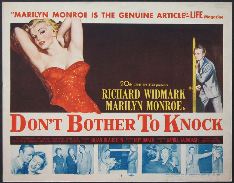 DON'T BOTHER TO KNOCK (Dont Bother to Knock) @ FilmPosters.com