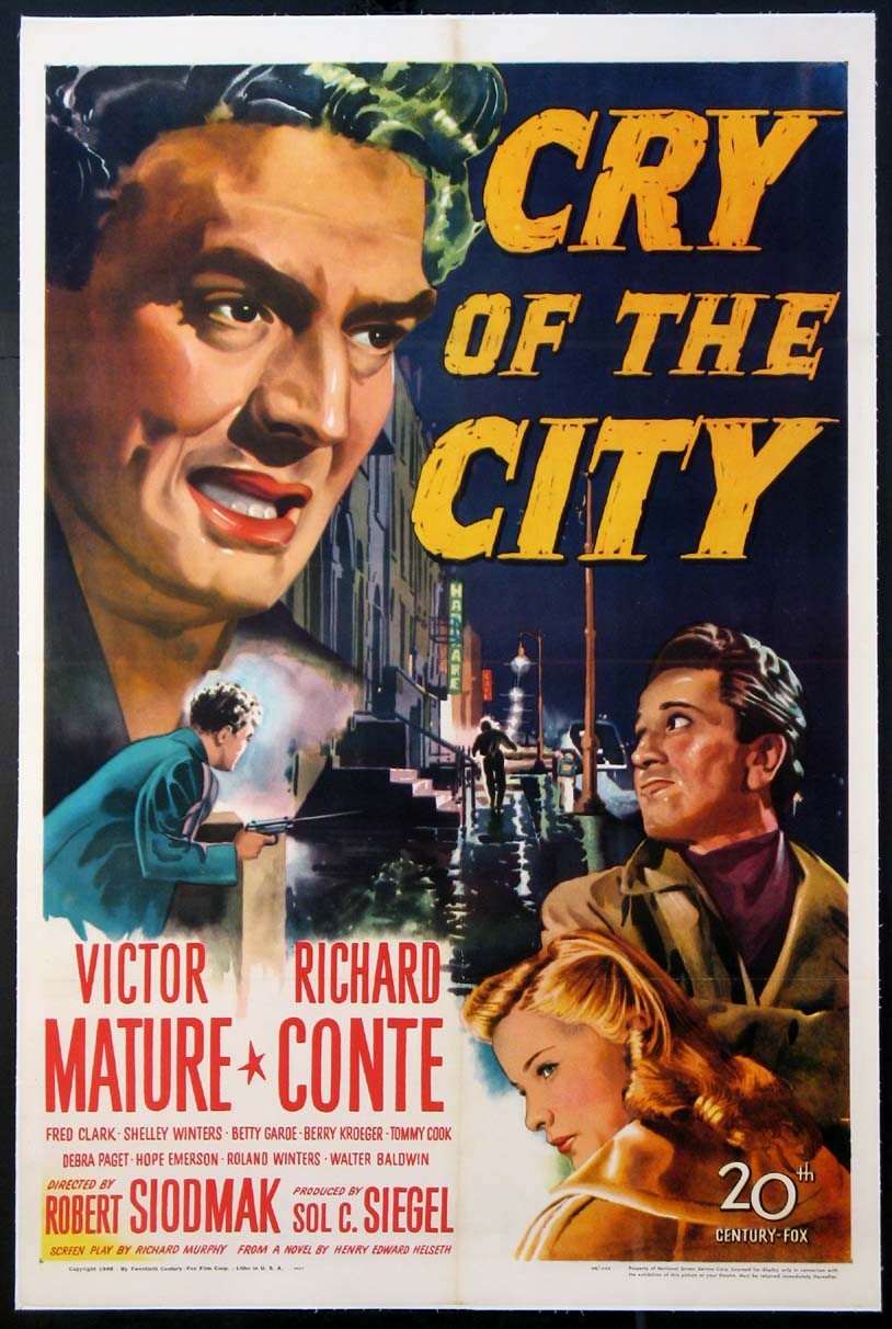 CRY OF THE CITY @ FilmPosters.com