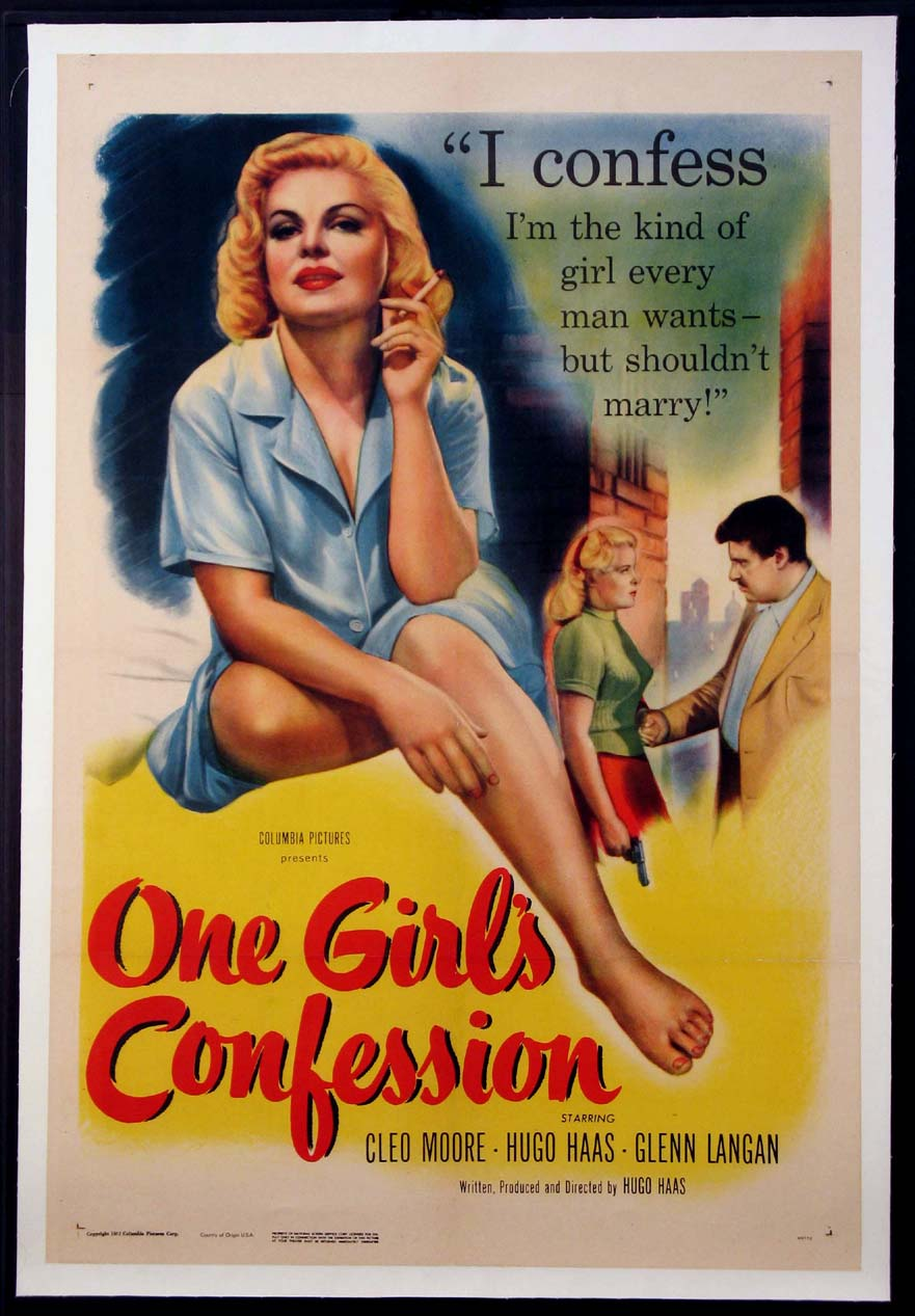 ONE GIRL'S CONFESSION @ FilmPosters.com