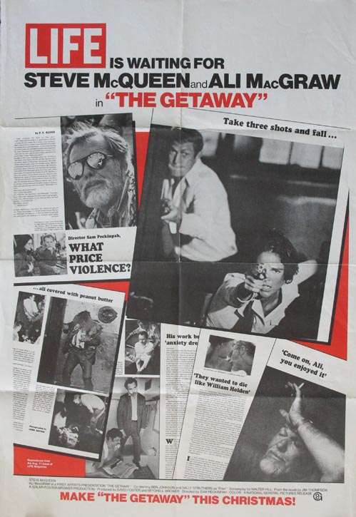 GETAWAY, THE (The Getaway) @ FilmPosters.com
