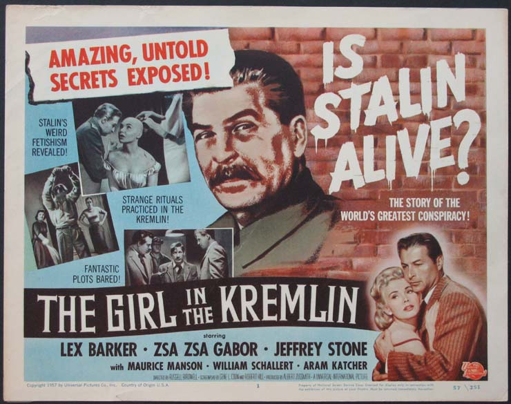 GIRL IN THE KREMLIN @ FilmPosters.com