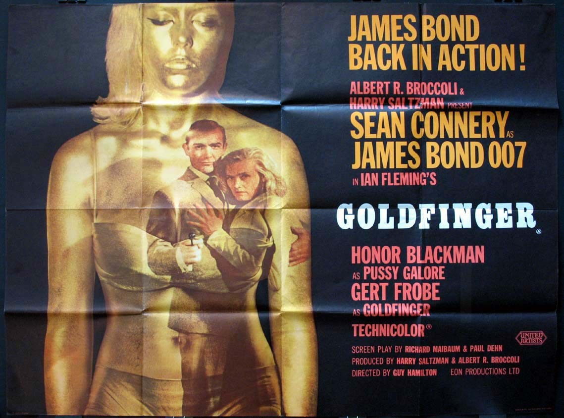 GOLDFINGER (James Bond) @ FilmPosters.com