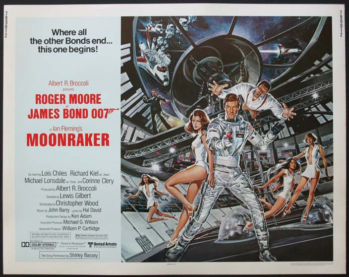 MOONRAKER (James Bond) @ FilmPosters.com