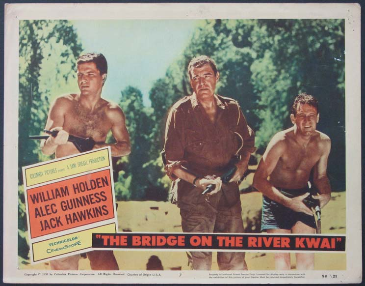 BRIDGE ON THE RIVER KWAI @ FilmPosters.com