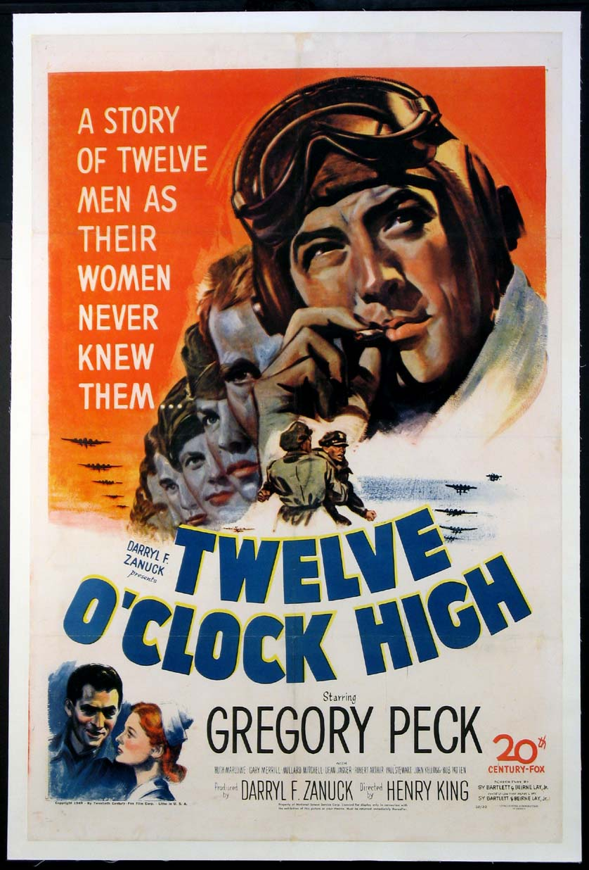 TWELVE O'CLOCK HIGH (Twelve OClock High) @ FilmPosters.com