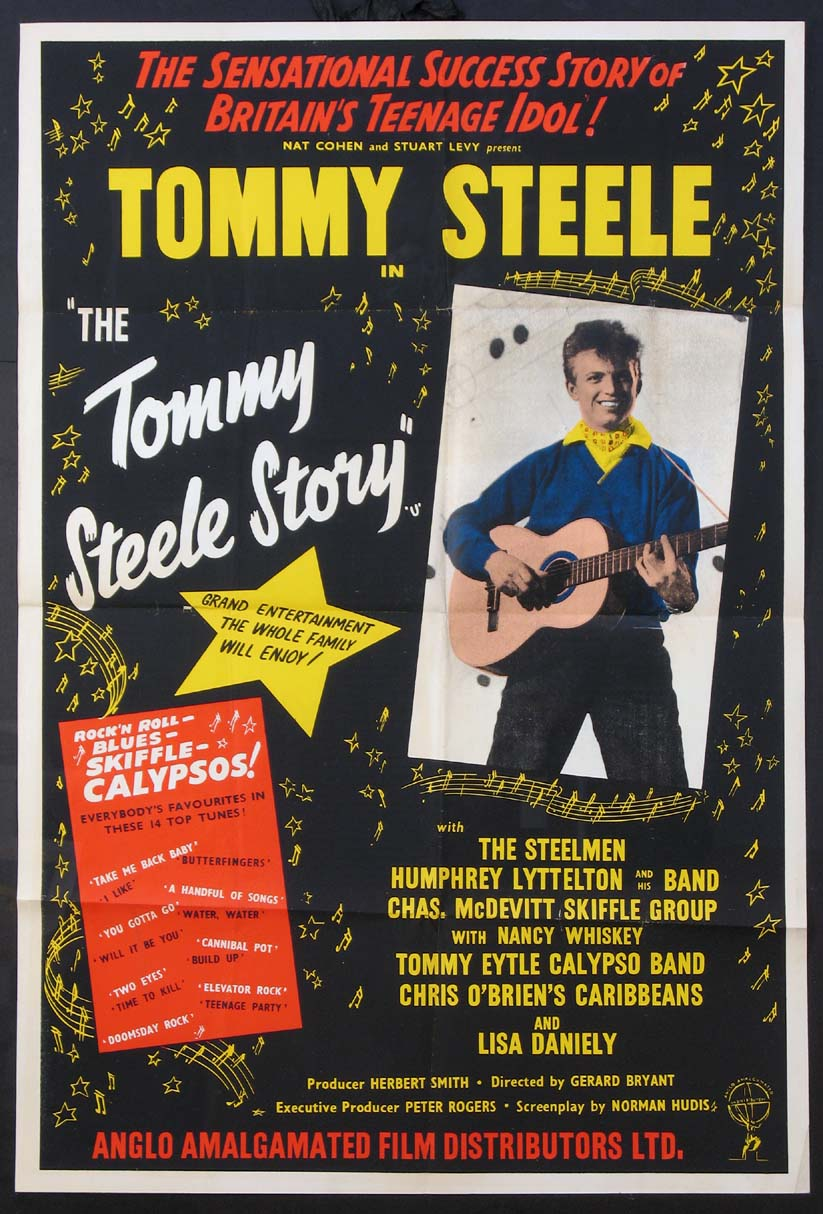 TOMMY STEELE STORY (aka ROCK AROUND THE WORLD) @ FilmPosters.com
