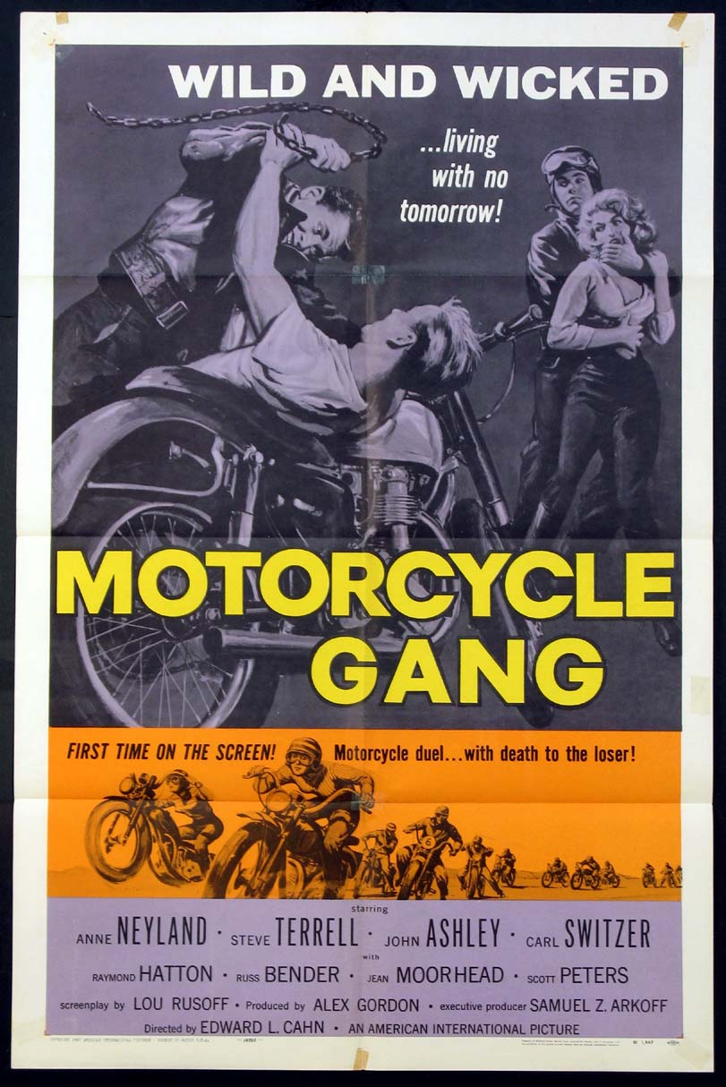 MOTORCYCLE GANG @ FilmPosters.com