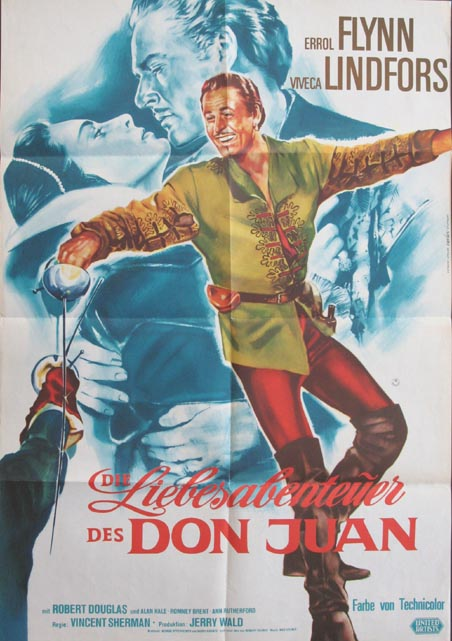 ADVENTURES OF DON JUAN @ FilmPosters.com
