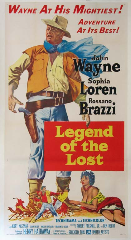 LEGEND OF THE LOST @ FilmPosters.com