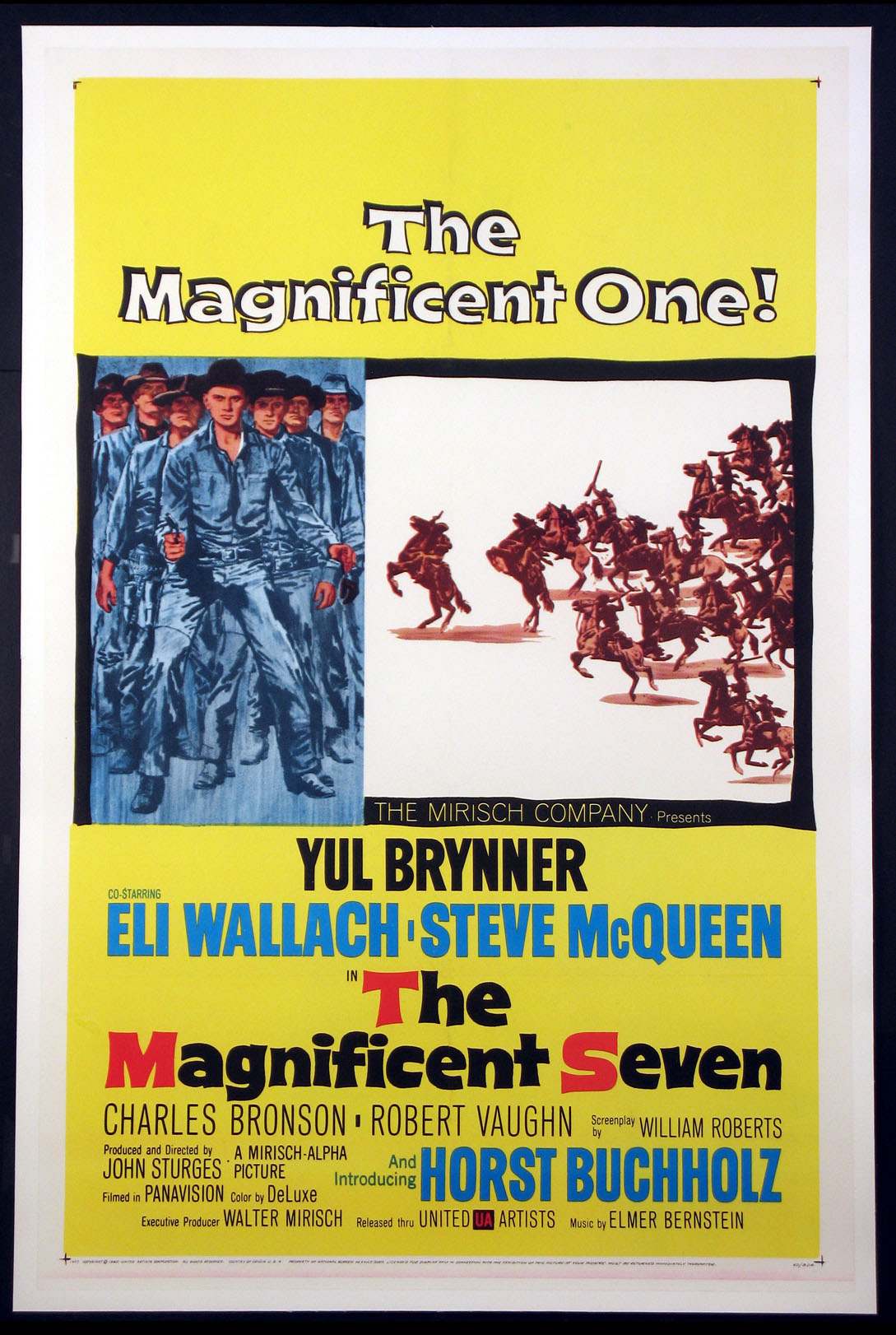 MAGNIFICENT SEVEN, THE @ FilmPosters.com