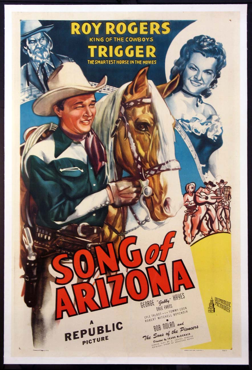 SONG OF ARIZONA @ FilmPosters.com