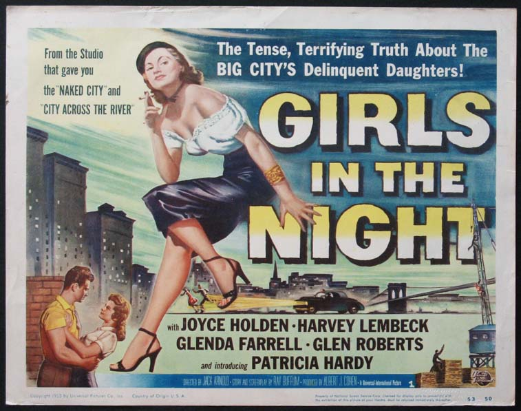 GIRLS IN THE NIGHT @ FilmPosters.com